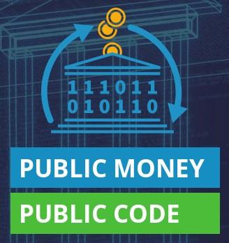 Nom : PublicMoneyPublicCode_FSFE_logo.jpg Affichages : 987 Taille : 33,9 Ko