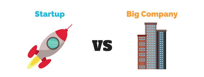 Nom : Startup vs Big company.png Affichages : 1201 Taille : 71,5 Ko
