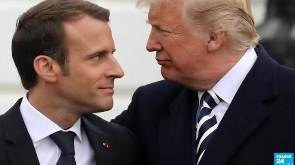Nom : Macron & Trump.jpg Affichages : 2512 Taille : 108,5 Ko