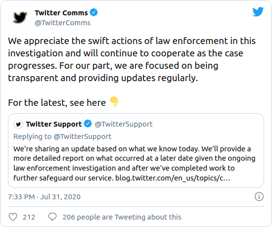 Nom : Screenshot_2020-08-03 Three people have been charged for Twitter's huge hack, and a Florida teen.png Affichages : 1423 Taille : 56,9 Ko