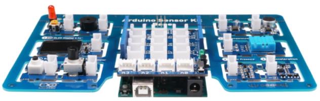 Nom : ArduinoSensorKit-plugged.jpg Affichages : 2591 Taille : 69,5 Ko