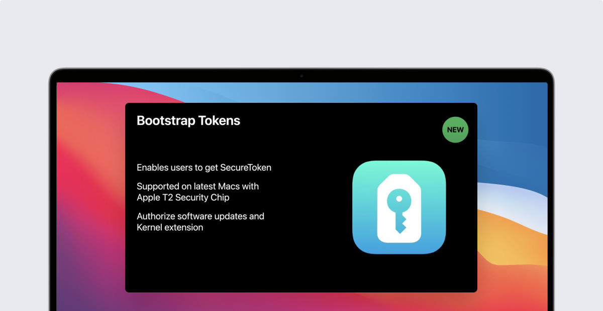 Nom : Changes to Secure Token & Bootstrap Token in macOS Big Sur-1.png Affichages : 7846 Taille : 312,0 Ko