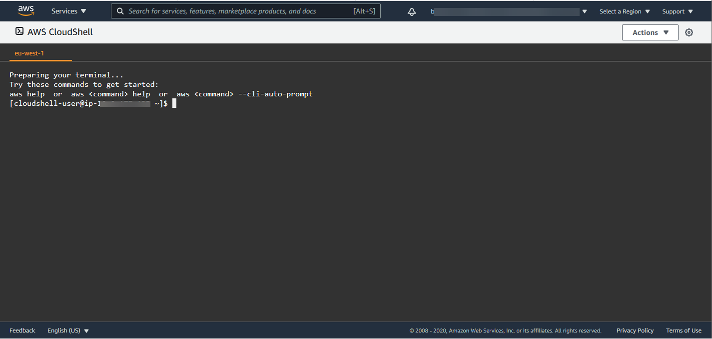 Nom : cloudshell-welcome.png Affichages : 952 Taille : 36,2 Ko