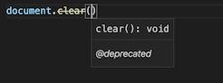 Nom : ts-deprecated-dom.png Affichages : 2343 Taille : 10,1 Ko