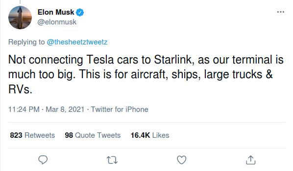 Nom : Screenshot_2021-03-09 Elon Musk on Twitter.png Affichages : 1632 Taille : 34,8 Ko