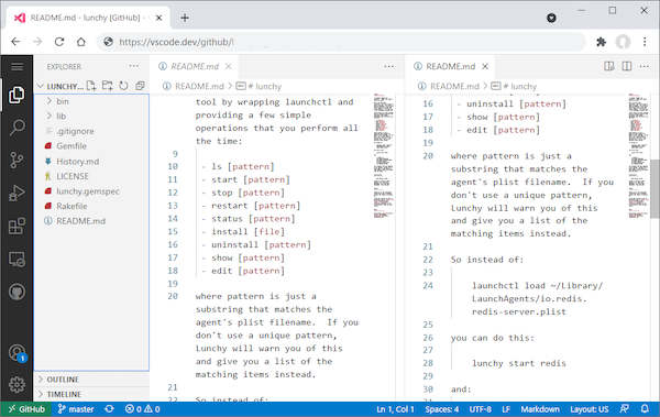 Nom : Visual Studio Code for the Web.png Affichages : 17093 Taille : 174,9 Ko