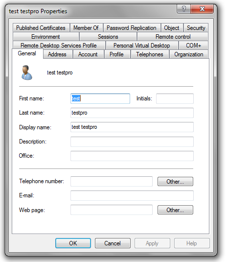 Probleme console active directory - Installer console active directory windows 7 ...